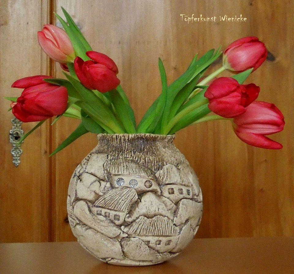 Toepferkunst-Manuela-Wienicke-Grossraeschen-Blumenschale-2